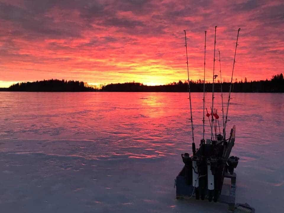 best way to ice fish for northern pike