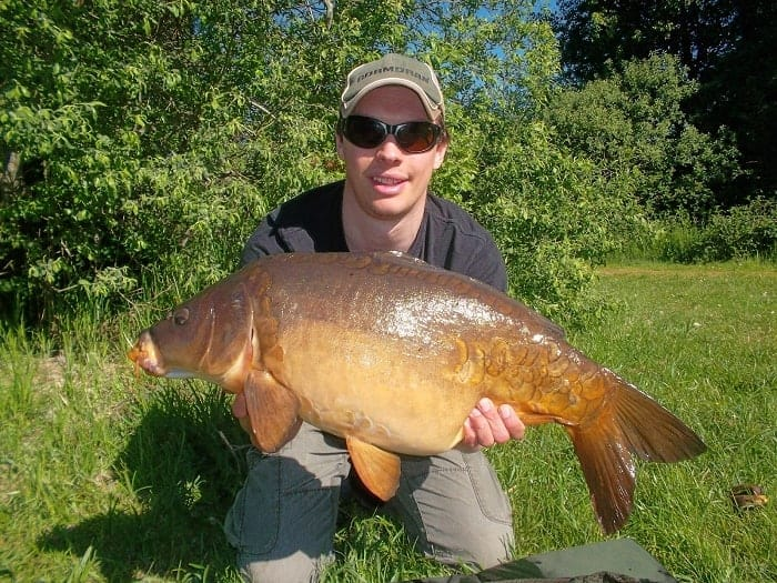 what is the difference between common carp and mirror carp