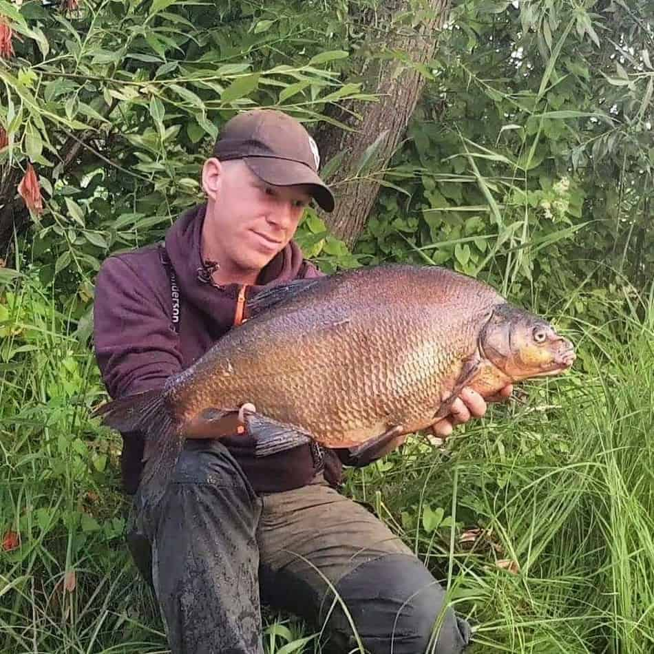 feeder fishing for river bream