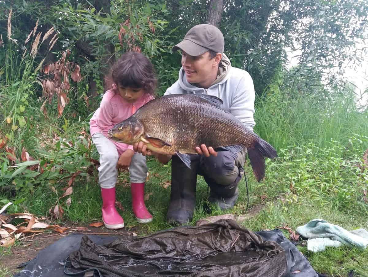 fishing trip with kids
