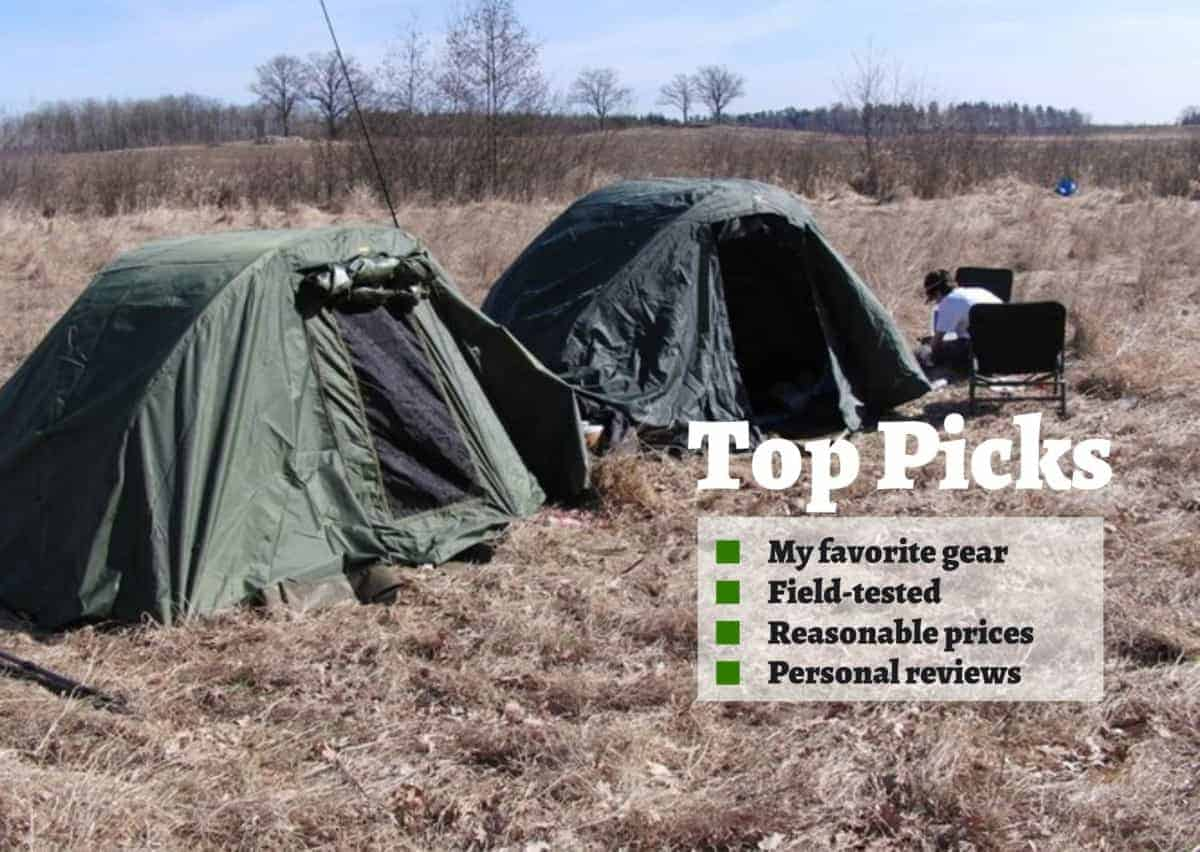 best camping gear for a fishing trip