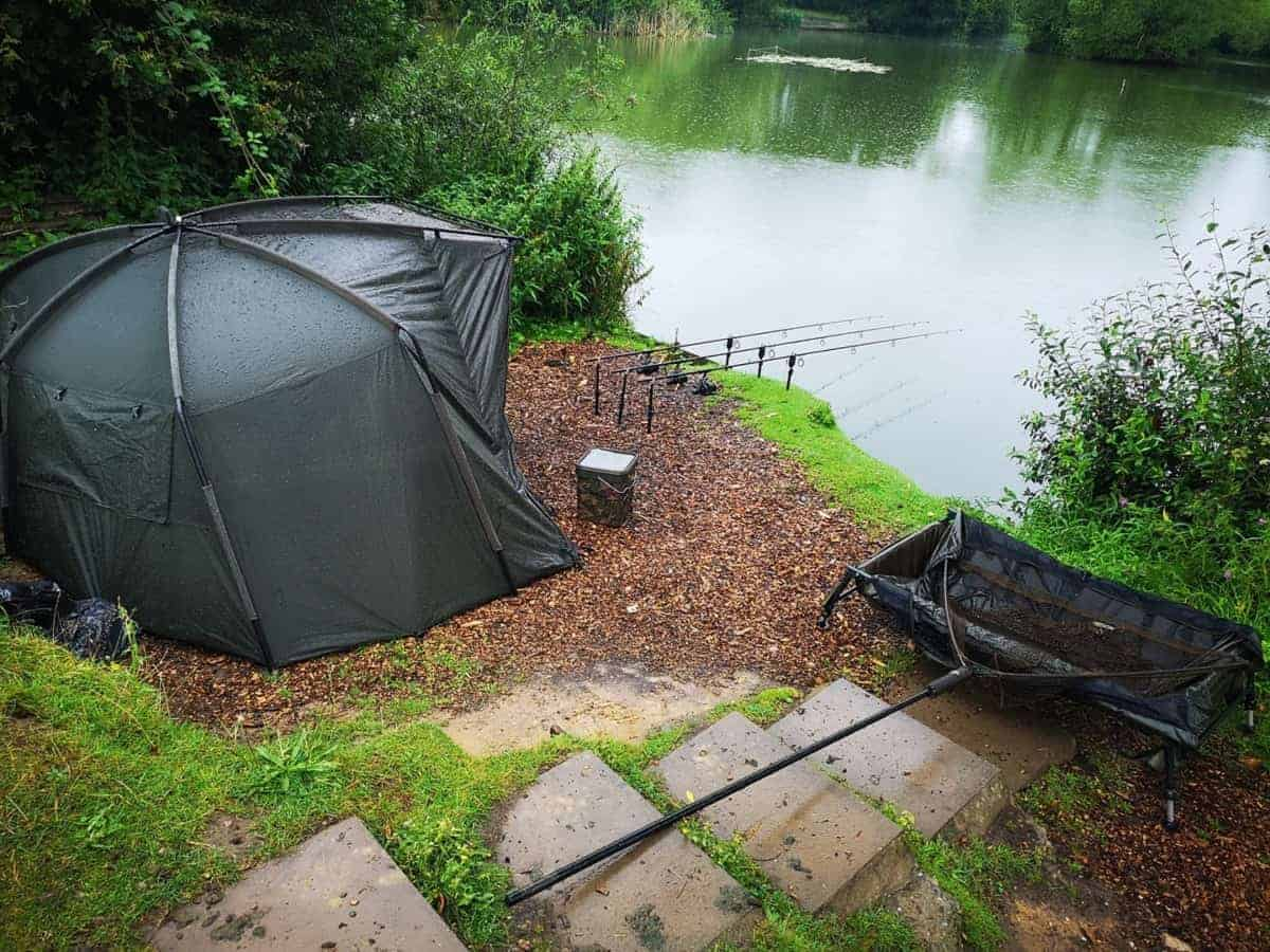 what is a fishing bivvy