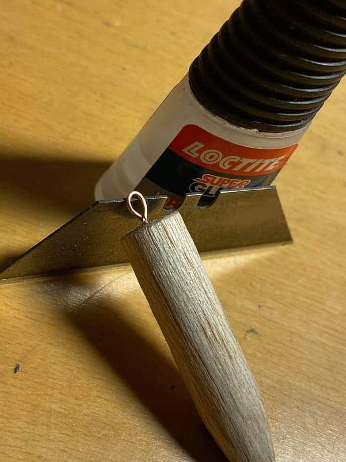 balsa stick for dead bait fishing