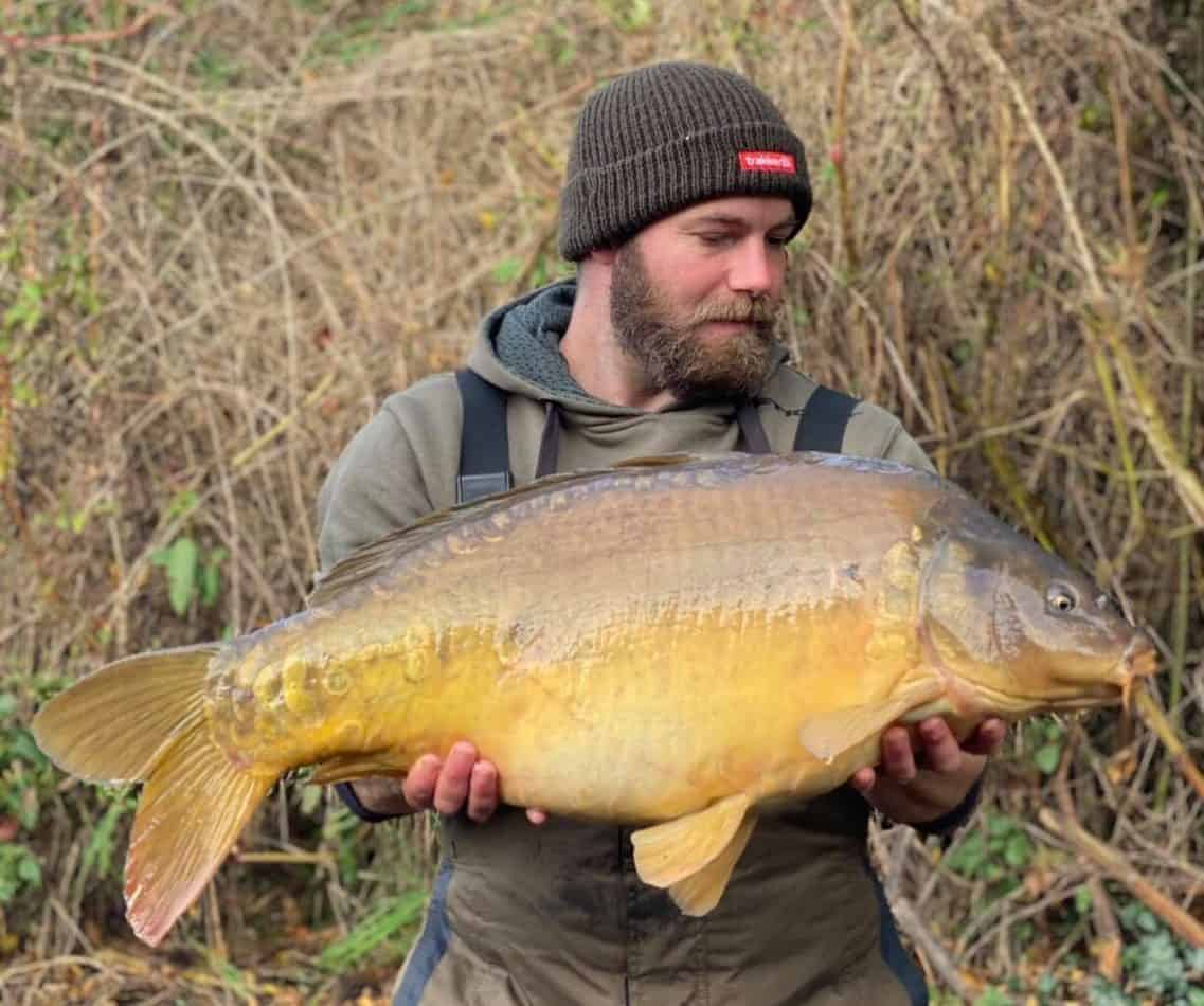 where should you fish for carp in winter