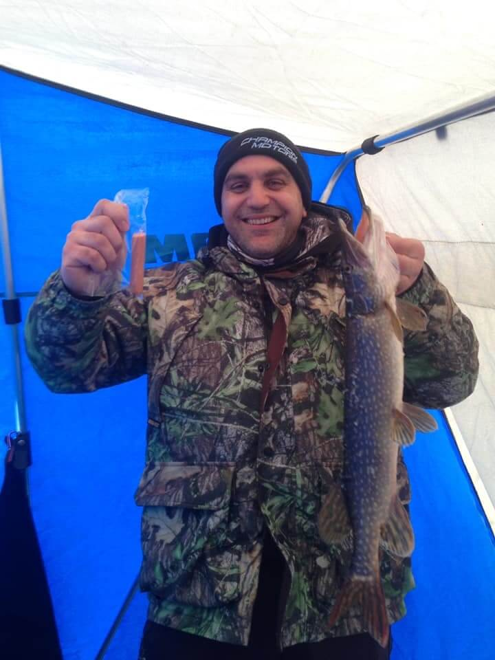 best hot dog for pike fishing