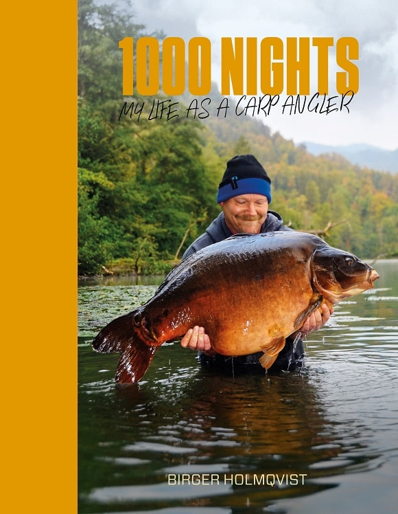 a book on carp fishing in Sweden