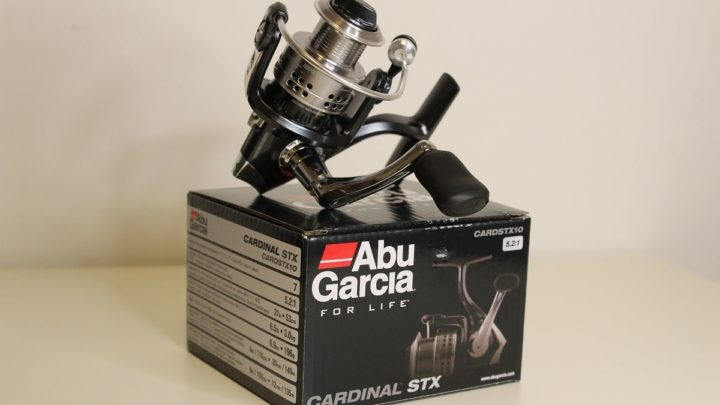 an image of an abu garcia spinning reel made in China